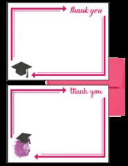 Phi Mu Graduation Postcards