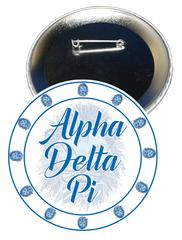 Alpha Delta Pi Sorority Button