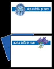Alpha Delta Pi Mom Logo Postcards