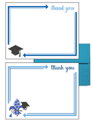 Kappa Kappa Gamma Graduation Postcards