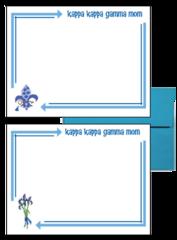 Kappa Kappa Gamma Mom Arrow Postcards