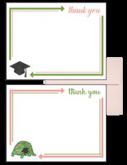 Delta Zeta Graduation Postcards