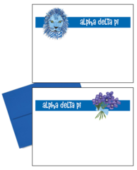 Alpha Delta Pi Logo Postcards