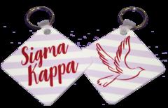 Sigma Kappa Key Chain