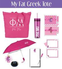 My Fat Greek Tote • Phi Mu