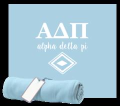 Alpha Delta Pi Sweatshirt Blanket