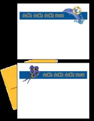 Delta Delta Delta Mom Logo Postcards