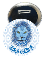 Alpha Delta Pi Logo Button