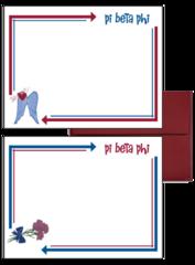 Pi Beta Phi Arrow Postcards