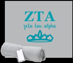 Zeta Tau Alpha Sweatshirt Blanket