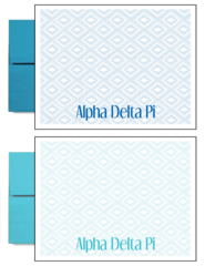 Alpha Delta Pi Sorority Postcards