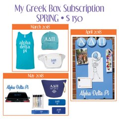 My Greek Box Subscription • Spring • Alpha Delta Pi