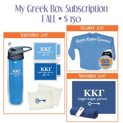 My Greek Box Subscription • Fall • Kappa Kappa Gamma