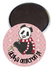 Alpha Omicron Pi Logo Magnet