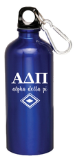 Alpha Delta Pi Aluminum Water Bottle