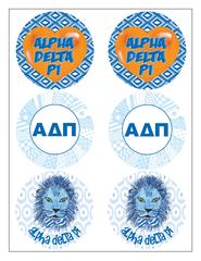 Alpha Delta Pi Sticker Sheet