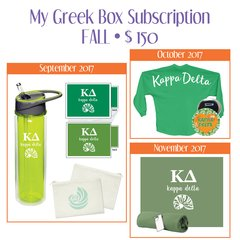 My Greek Box Subscription • Fall • Kappa Delta