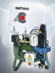 Single Head 2 cylinder Oilless Compressor (Cattani)
