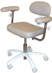 Model 1088 Doctor Stool Contoured Rectangular seat with three-way Adjustable (Galaxy)