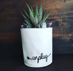Cement Planter - Unplug