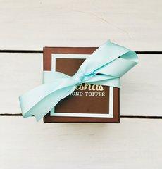 Half Pound Box Classic Milk Chocolate Almond Toffee