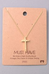 MUST HAVE Necklace - Cross