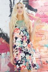 Summer Paradise Floral Dress