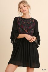 Enchanted Embroidered Tunic Top