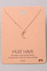 MUST HAVE Necklace - Moon