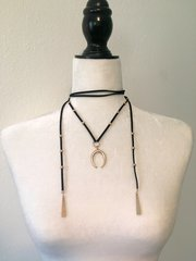 By the Horns Choker Necklace