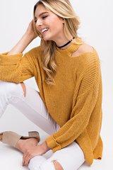 Daydream Mustard Sweater