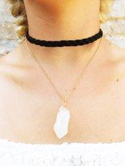 White Rock Choker Necklace
