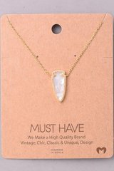 MUST HAVE Necklace - White Arrow