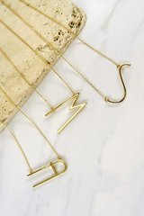 Simple Initial Necklace