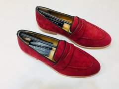 MEN SHOES (HPAM SUED RED DK 1)