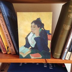'Madame Ginoux' Classic Van Gogh Painting Greeting Card
