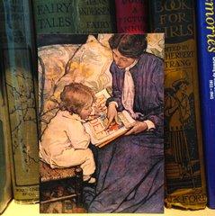 'First Steps' Jessie Willcox Smith Illustration Greeting Card