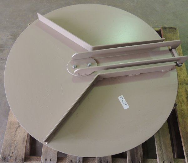 Flap Gate For Steel Pipe Osceola Machine Works And