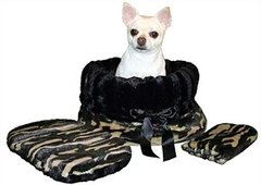Dog Beds: Reversible Snuggle Bugs Pet Bed, Bag, Car Seat All in One 9 Different Patterns