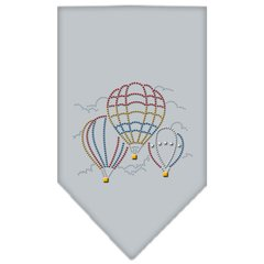 Dog Bandanas: Rhinestone Dog Bandana 'HOT AIR BALLOONS' Different Colors Sizes Small or Large by Mirage USA