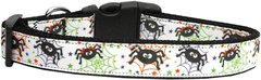 Holiday Nylon Dog Collars: Nylon Ribbon Collar by Mirage Pet Products - ITSY BITSY SPIDERS
