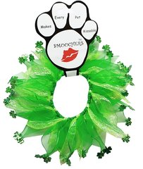 Smoochers Dog Collars: SHAMROCK Smoocher Dog Collar Mirage Pet Products