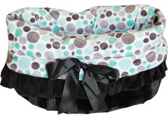 Dog Beds: Reversible Snuggle Bugs Pet Bed, Bag, Car Seat All in One - 10 Different Patterns