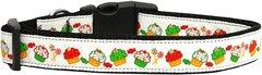 Holiday Dog Collars: Nylon Ribbon Collar Mirage Products - CHRISTMAS CUPCAKES