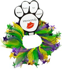 Smoochers Dog Collars: MARDI GRAS Smoocher Dog Collar Mirage Pet Products