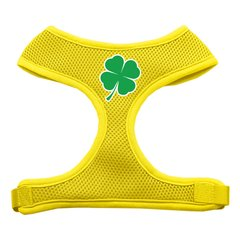 Dog Harnesses: Screen Print - SHAMROCK Soft Mesh Dog Harness in Several Sizes & Colors USA