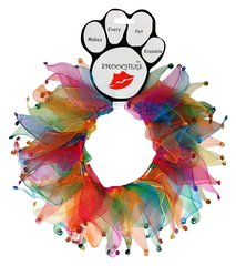Smoochers Dog Collars: Smoocher Dog Collar Mirage Pet Products - CONFETTI JEWEL