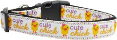Dog Collars: Nylon Ribbon Collar by Mirage Pet Products USA - CUTE CHICK
