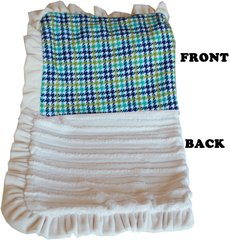 Pet Blankets: Luxurious Plush Pet Blankets with Plaid Designs 3 Sizes USA by Mirage Pet Products