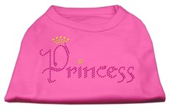 Dog Shirts: PRINCESS Rhinestone Dog Shirt in Various Colors & Sizes by Mirage